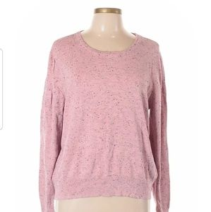 H&M Womens Pink Pullover Sweater Size M